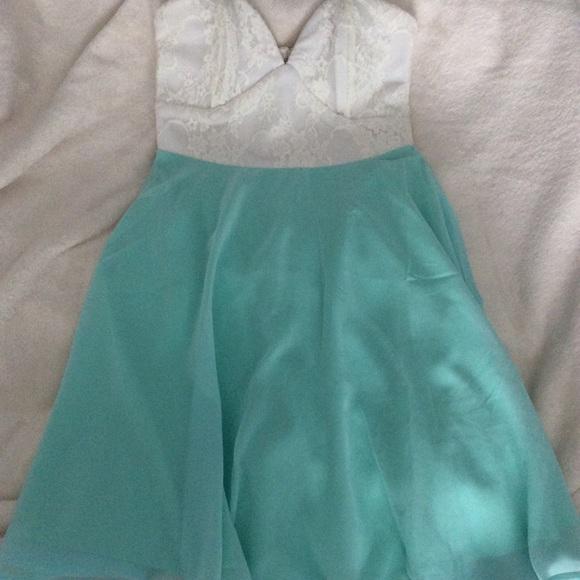 Tobi Strapless Dress - XS